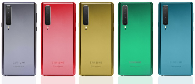 Ngắm bản dựng hoàn chỉnh Galaxy Note10 với thiết kế mới mẻ - 6