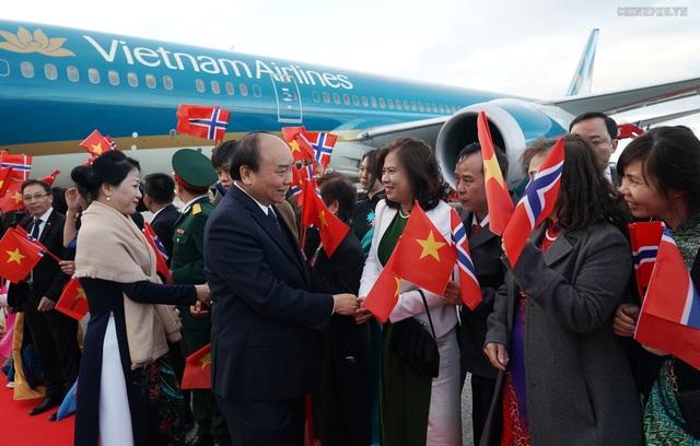 Thủ tướng Nguyễn Xuân Phúc bắt đầu thăm chính thức Vương quốc Na Uy - 1
