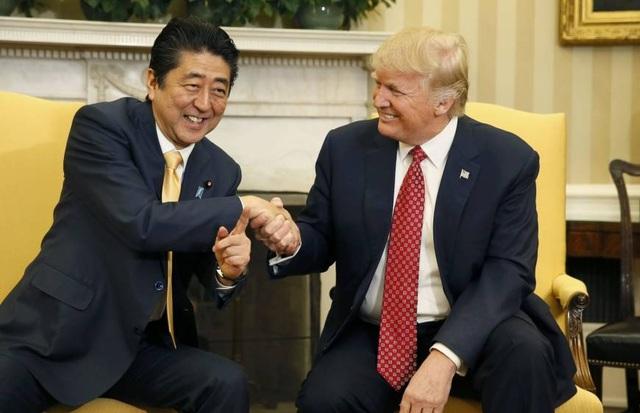 """Nhật Bản """"trải thảm đỏ"""" đón ông Trump công du lần đầu tiên trong triều đại mới - 1"""