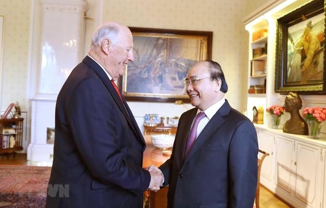 Thủ tướng Nguyễn Xuân Phúc hội kiến Nhà vua Na Uy - 1