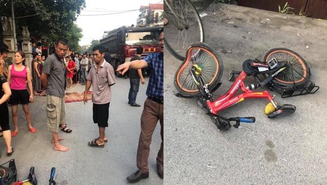 Đẫm nước mắt cảnh chị đạp xe chở em đón bố mẹ, bé 7 tuổi bị xe tông chết - 2