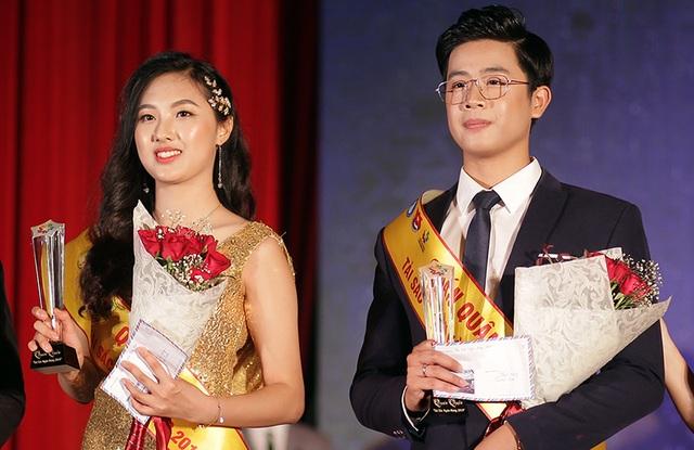 Lộ diện cặp đôi đăng quang Tài sắc Học viện Ngân hàng 2019 - 3