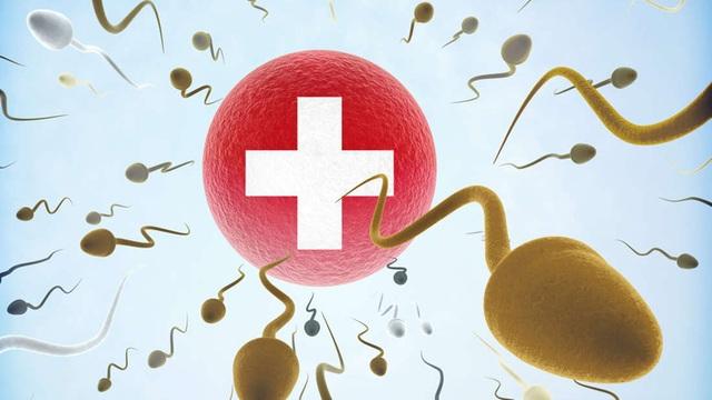 Nam giới Thụy Sĩ có chất lượng tinh trùng thấp nhất châu Âu - 1