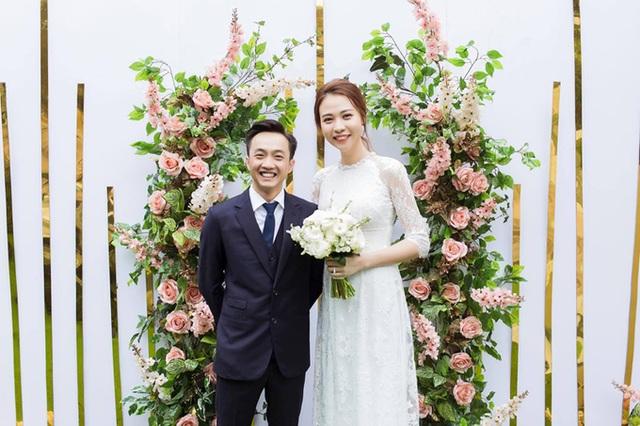 Đàm Thu Trang khoe ảnh cưới trước ngày lên xe hoa với Cường Đô La - 2