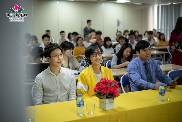 """Cuộc thi """"Nhật ký học đường"""": Trường Đại học Đông Đô trao quà tặng 100 triệu đồng và 70 suất học bổng - 2"""