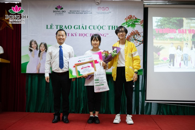 """Cuộc thi """"Nhật ký học đường"""": Trường Đại học Đông Đô trao quà tặng 100 triệu đồng và 70 suất học bổng - 4"""