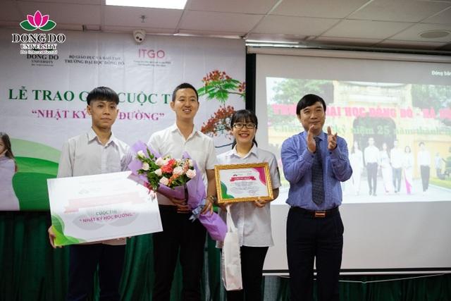 """Cuộc thi """"Nhật ký học đường"""": Trường Đại học Đông Đô trao quà tặng 100 triệu đồng và 70 suất học bổng - 5"""