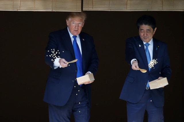 """Nhật Bản """"trải thảm đỏ"""" đón ông Trump công du lần đầu tiên trong triều đại mới - 2"""