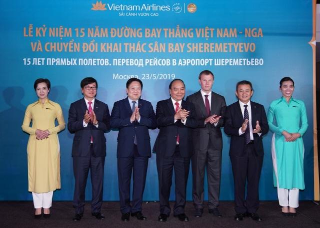 """Thủ tướng: Vietnam Airlines là """"sứ giả"""" cho sự hợp tác hữu nghị Việt - Nga - 1"""