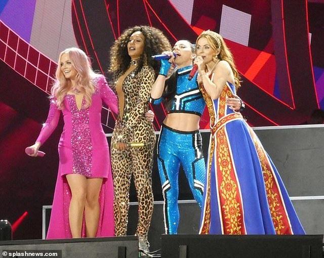 Spice Girls trẻ trung ngày tái hợp - 4