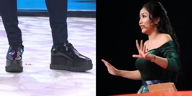 """Trấn Thành bị """"vạch mặt"""" vì thường xuyên mang giày độn trên sóng truyền hình - 8"""