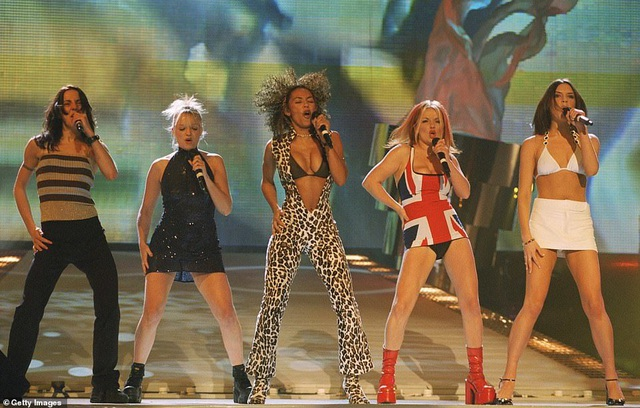 Spice Girls trẻ trung ngày tái hợp - 2