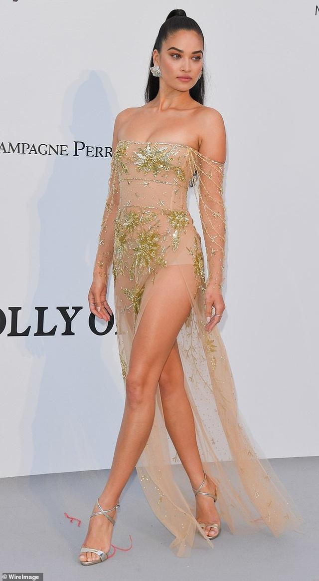 Siêu mẫu Úc Shanina Shaik diện váy hở bạo - 6