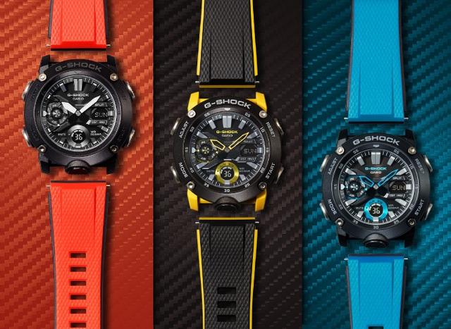 Đồng hồ G-Shock sợi carbon mới của Casio gây hot trên thị trường - 1