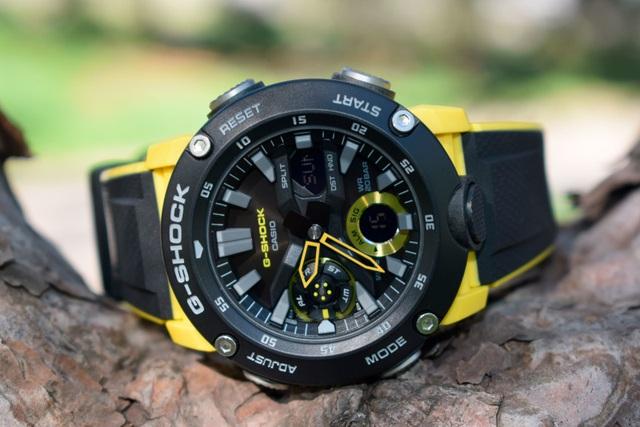 Đồng hồ G-Shock sợi carbon mới của Casio gây hot trên thị trường - 3