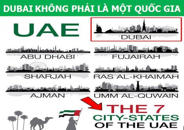 """Những điều ít người biết về """"mảnh đất dát vàng"""" Dubai  - 1"""