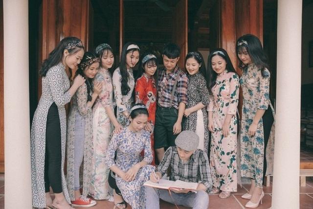 Học sinh xứ Thanh hóa thân thành nhân vật văn học trong bộ ảnh kỷ yếu cuối cấp - 4