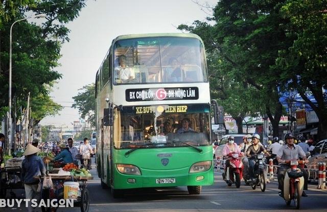 Bác thông tin ngưng hoạt động xe buýt 2 tầng đầu tiên ở Sài Gòn - 1