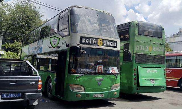 Bác thông tin ngưng hoạt động xe buýt 2 tầng đầu tiên ở Sài Gòn - 2