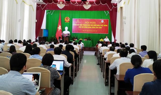 """Bộ trưởng Phùng Xuân Nhạ: Mục tiêu là """"lấp trũng"""" cho giáo dục ĐBSCL - 1"""