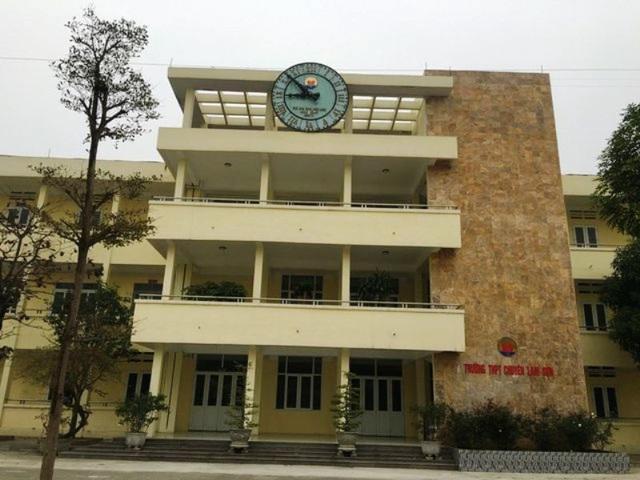 Hồ sơ đăng ký dự thi vào lớp 10 Trường THPT chuyên Lam Sơn giảm - 1