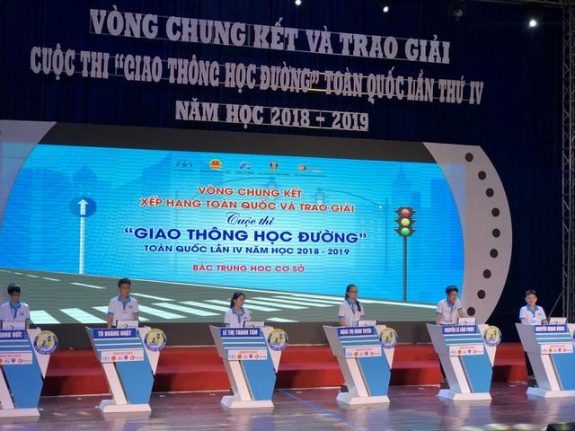 Chung kết cuộc thi Giao thông học đường toàn quốc 2019 - 2