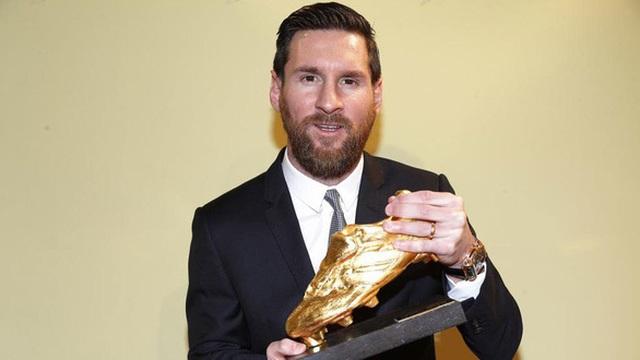 Messi giành danh hiệu Chiếc giày Vàng châu Âu lần thứ 6 - 1