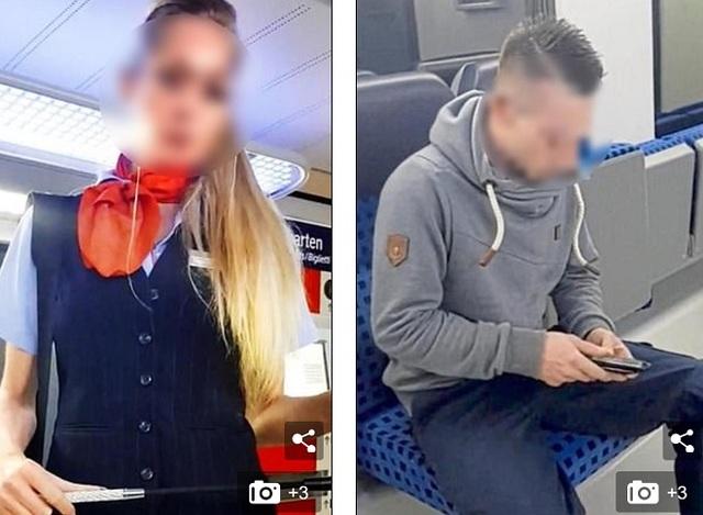 Nữ bảo vệ nhà ga mất việc vì tranh thủ đóng phim khiêu dâm trên tàu - 1