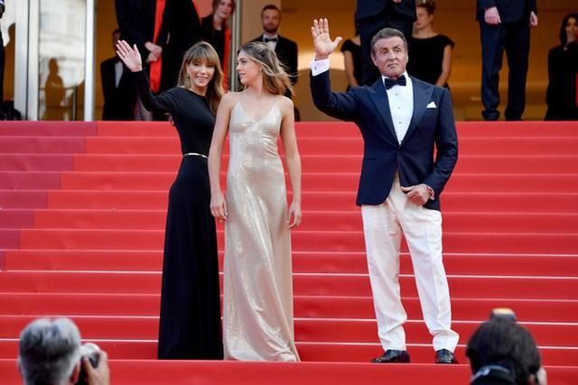 Rambo hạnh phúc cùng vợ con dự LHP Cannes - 6