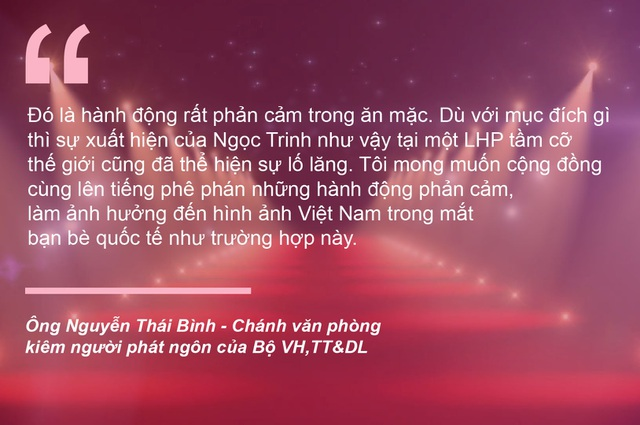 """Khép lại những lùm xùm về Ngọc Trinh và phim """"Vợ ba"""" - 1"""