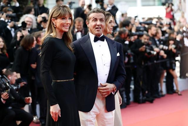 Rambo hạnh phúc cùng vợ con dự LHP Cannes - 5