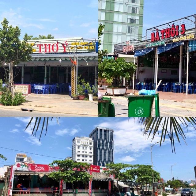 Hàng loạt nhà hàng nổi tiếng ven biển Đà Nẵng xây dựng không phép - 1
