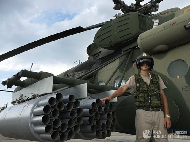 Nga thử nghiệm hơn 100 loại vũ khí mới ở Syria - 1