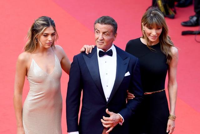 Rambo hạnh phúc cùng vợ con dự LHP Cannes - 3