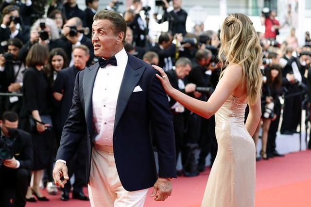 Rambo hạnh phúc cùng vợ con dự LHP Cannes - 4