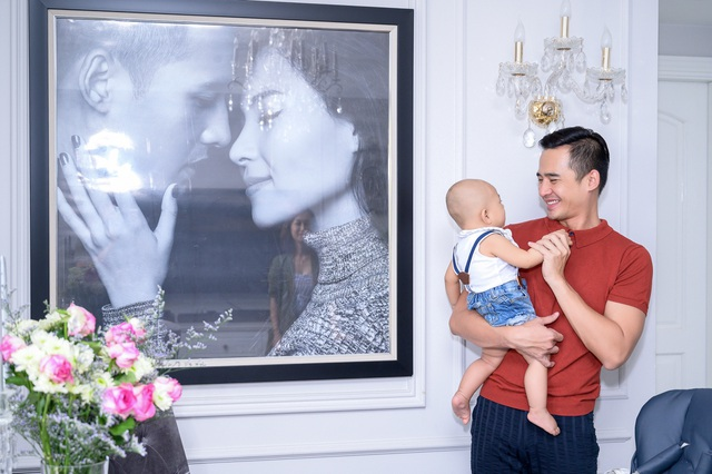 Thăm tổ ấm của cặp vợ chồng ngôn tình đáng ghen tị nhất nhì showbiz Việt - 4