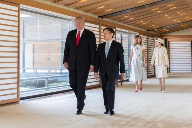 Tân Nhật hoàng đón tiếp Tổng thống Trump trong cuộc gặp lịch sử - 12