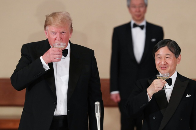 Tổng thống Trump dự quốc yến cùng Nhật hoàng Naruhito - 11