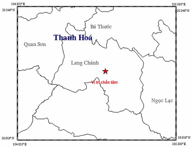 Xuất hiện động đất ở huyện miền núi Thanh Hóa - 1