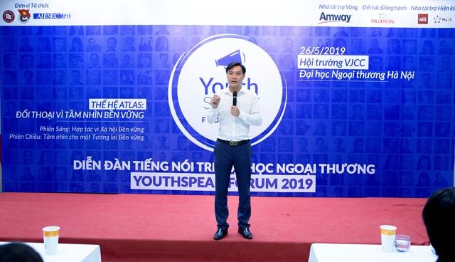 Amway Việt Nam đồng hành cùng diễn đàn Tiếng nói trẻ Youthspeak 2019 - 1