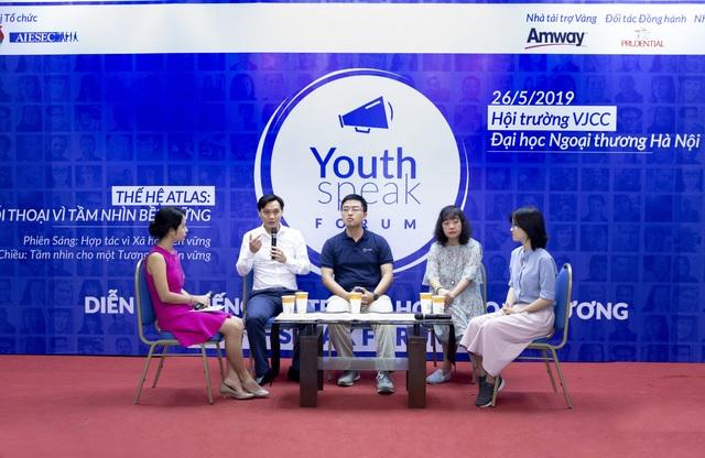 Amway Việt Nam đồng hành cùng diễn đàn Tiếng nói trẻ Youthspeak 2019 - 2