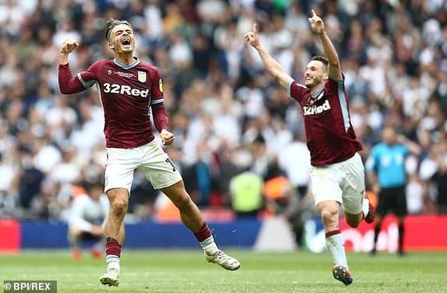 Thắng nghẹt thở trước Derby County, Aston Villa giành vé thăng hạng Premier League - 5