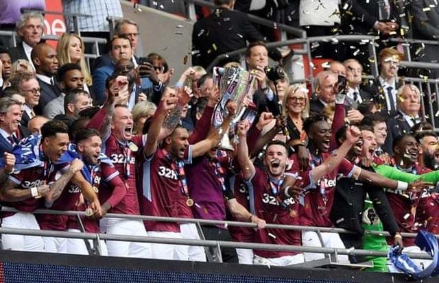 Thắng nghẹt thở trước Derby County, Aston Villa giành vé thăng hạng Premier League - 6
