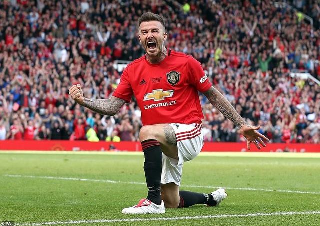 Beckham tỏa sáng, huyền thoại Man Utd thắng huyền thoại Bayern 5-0 - 11