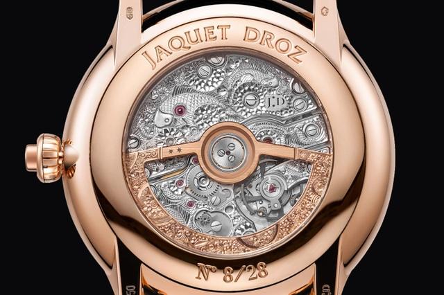 Jaquet Droz đưa bức hoạ động đầm sen lên đồng hồ Magic Lotus Automaton - 6