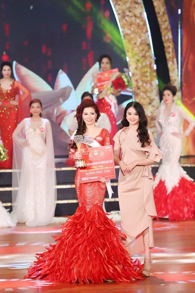 Doanh nhân Nguyễn Thị Nhung – Bóng hồng đăng quang Hoa hậu Doanh nhân Việt Nam 2019 - 3