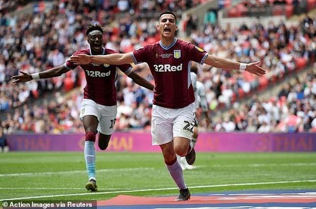 Thắng nghẹt thở trước Derby County, Aston Villa giành vé thăng hạng Premier League - 2