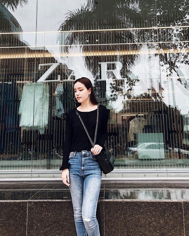 Em gái xinh đẹp của Mai Phương Thúy có phải yêu nữ hàng hiệu như chị? - 6