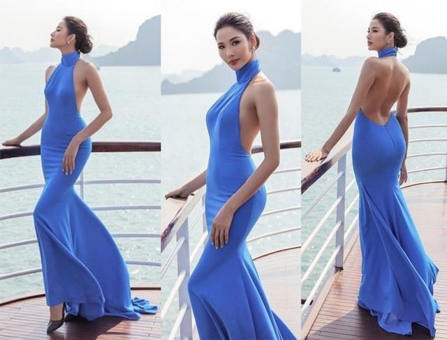Hoa hậu Ngọc Hân, Thúy Ngân, Phạm Quỳnh Anh khoe dáng trong trang phục áo tắm chào hè - 7