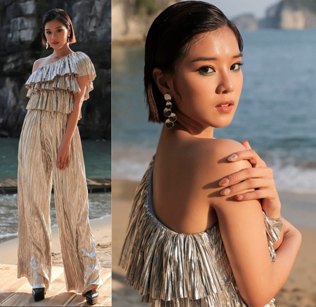 Hoa hậu Ngọc Hân, Thúy Ngân, Phạm Quỳnh Anh khoe dáng trong trang phục áo tắm chào hè - 8